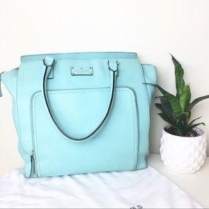 Kate spade baby blue/ mint purse